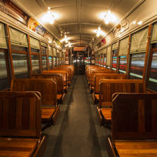 [Image: Empty streetcar by ChuckmanFIlms]