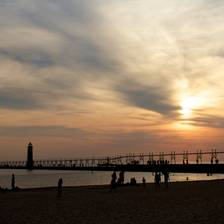 [Image: Grand Haven Sunset by daynarnold]