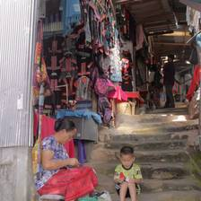 [Image: Mother Son Doi Pui by daynarnold]
