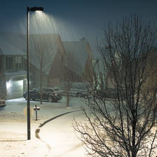 [Image: Snow fall over Lexington, KY by kvelazquez]