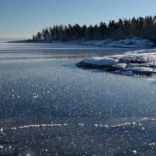 [Image: Great Lakes Frozen Shoreline Lake Superior by markmagedotcom]