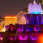 [Image: Fountains at Night by jonchrist]
