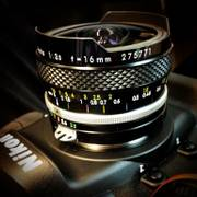 [Image: Nikkor 16mm Fisheye by LordOfVisions]