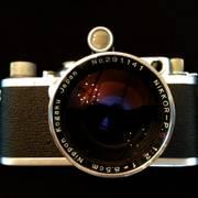 [Image: Leica IIIf w/ Nikkor 85mm f/2]